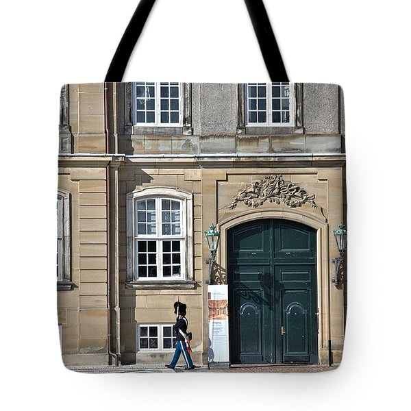 Tote Bag featuring the photograph Amalienborg Palace by Steven Richman