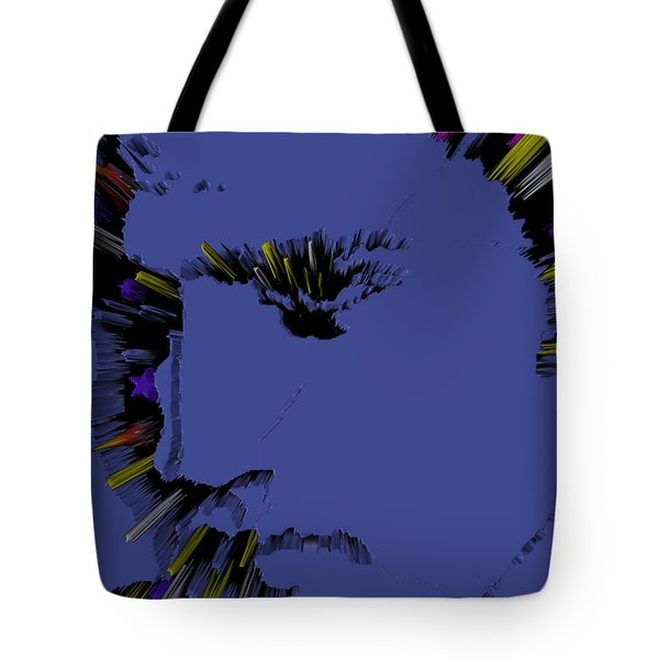 Amazing Grace And Elvis Tote Bag by Robert Margetts