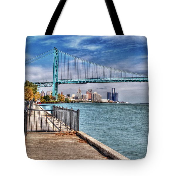 Ambassador Bridge Detroit Mi Tote Bag
