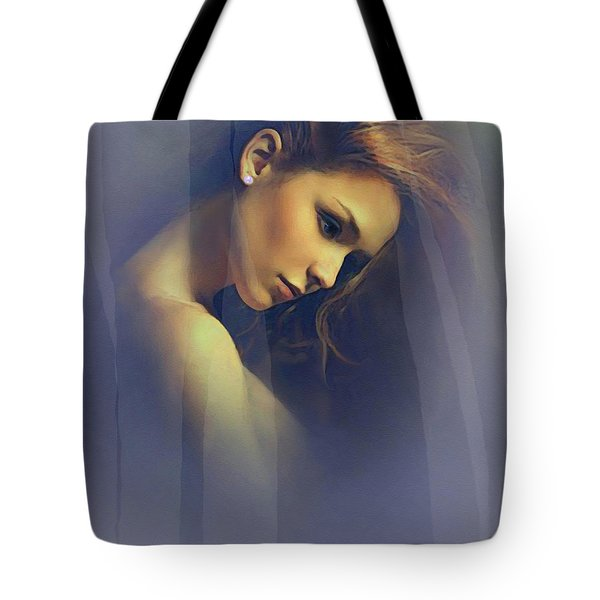 Amber Tote Bag by Robert Foster