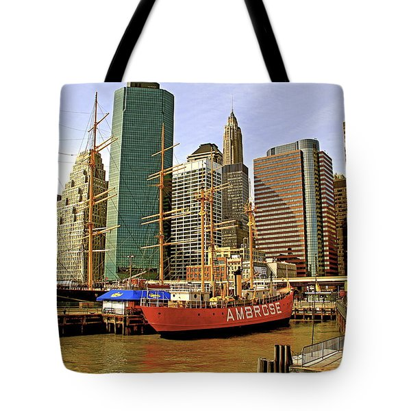Tote Bag featuring the photograph Ambrose by Alice Gipson