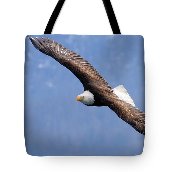 Tote Bag featuring the photograph American Bald Eagle by Doug Lloyd