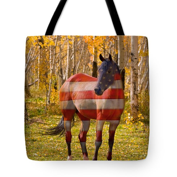 American Bred Tote Bag by James BO  Insogna