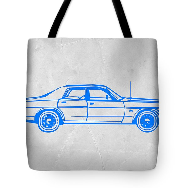 American Car Tote Bag