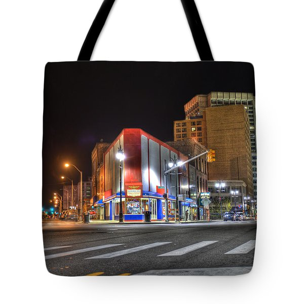 American Coney Island Tote Bag by Nicholas  Grunas