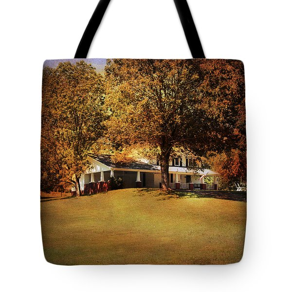 American Home Tote Bag by Jai Johnson