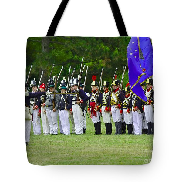 Tote Bag featuring the photograph American Line by JT Lewis