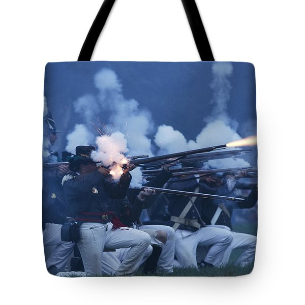 American Night Battle Tote Bag by JT Lewis