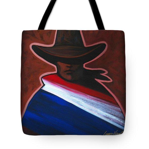 American Rider Tote Bag by Lance Headlee