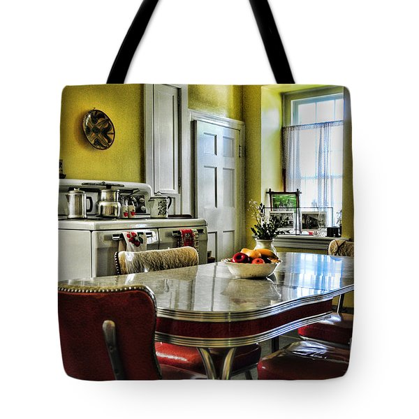 Americana - 1950 Kitchen - 1950s - Retro Kitchen Tote Bag by Paul Ward