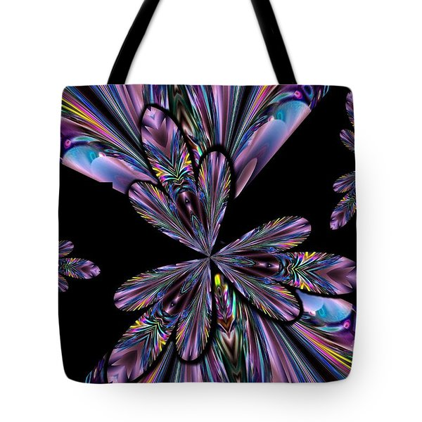 Amethyst Affair Tote Bag by Maria Urso