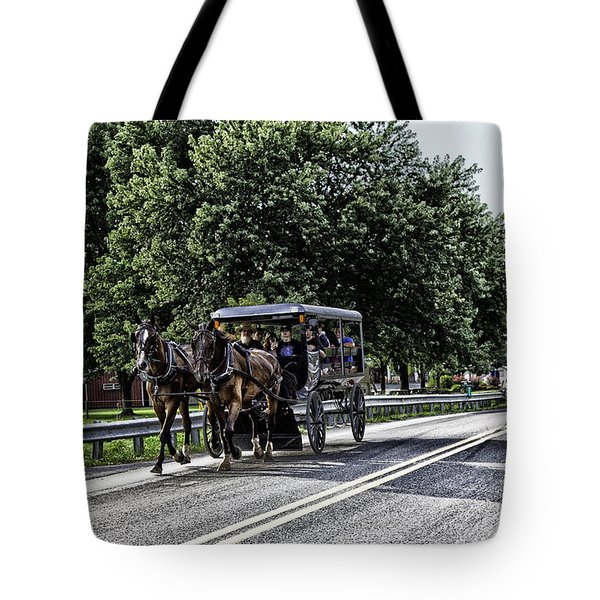 Amish Country - Intercourse Pennsylvania Tote Bag
