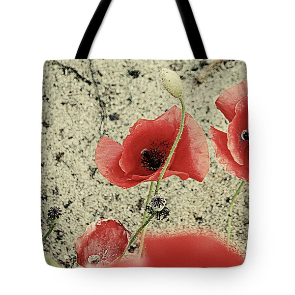 Among The Cross Tote Bag by Empty Wall