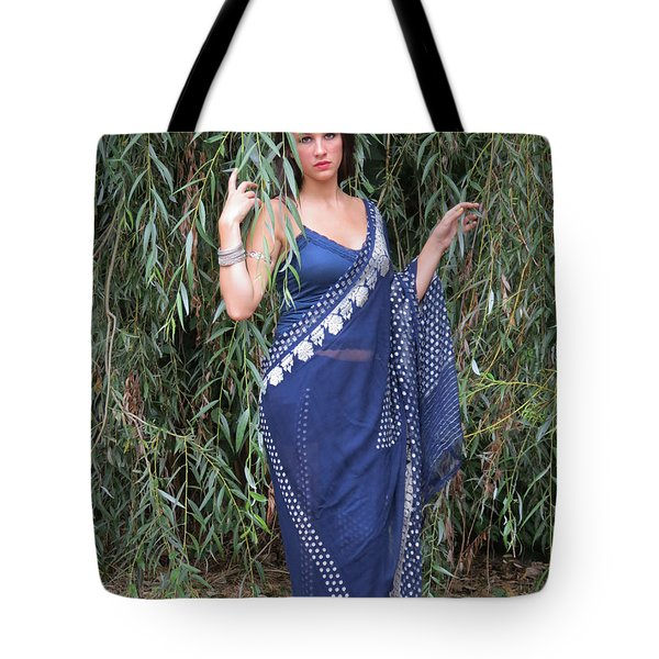 Amonst The Willow Leaves Tote Bag