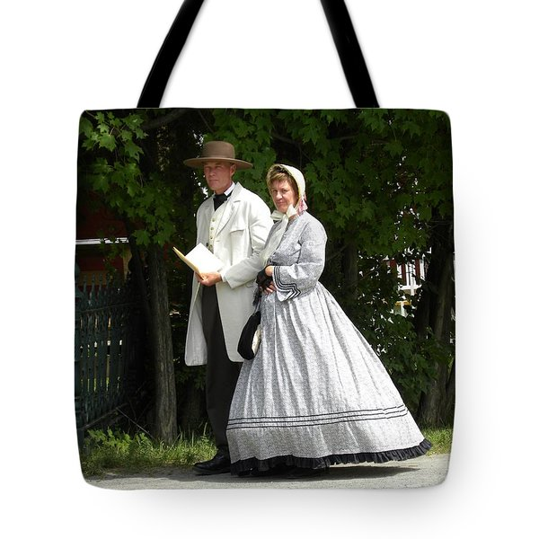 An Afternoon Stroll Tote Bag