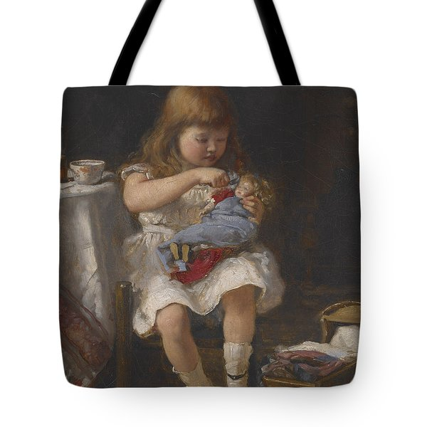 An Anxious Mother Tote Bag by Percival de Luce
