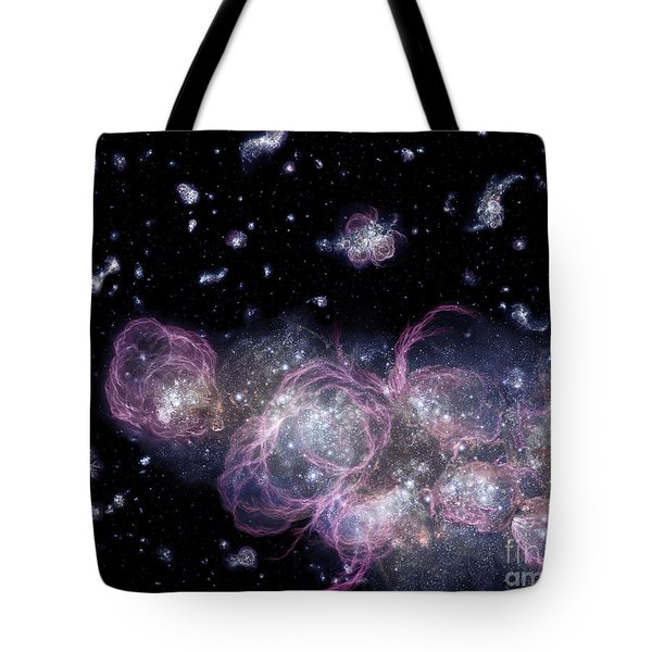 An Artists Impression Of How Tote Bag by Stocktrek Images