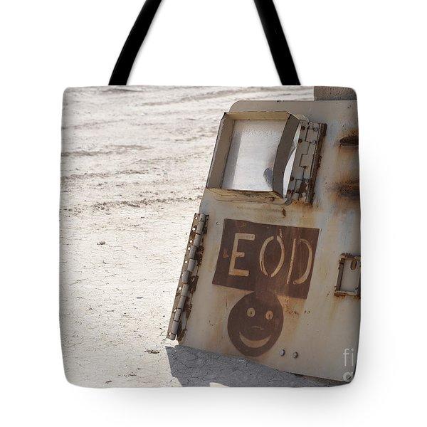 An Explosive Ordnance Disposal Logo Tote Bag by Stocktrek Images