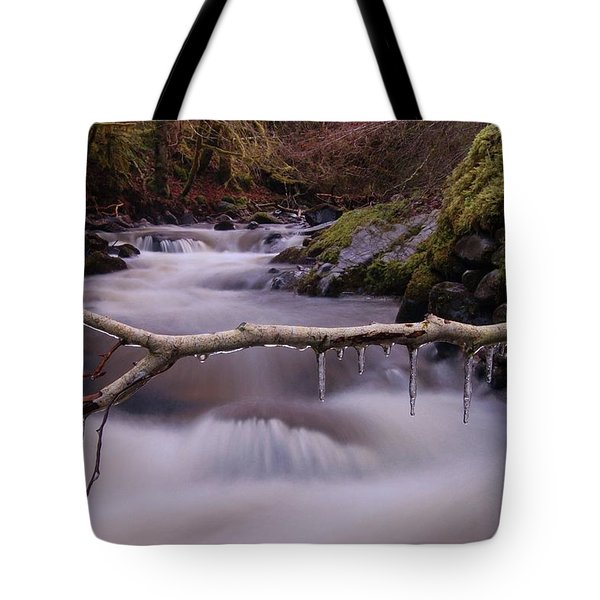 An Icy Flow Tote Bag