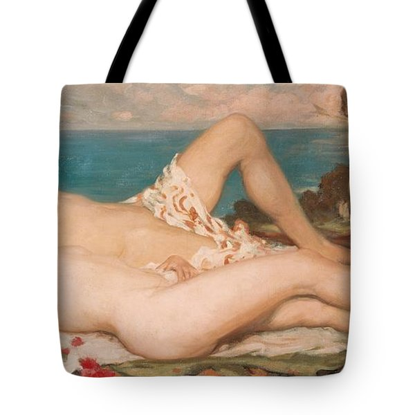 An Idyll Tote Bag by Rupert Charles Wolston Bunny