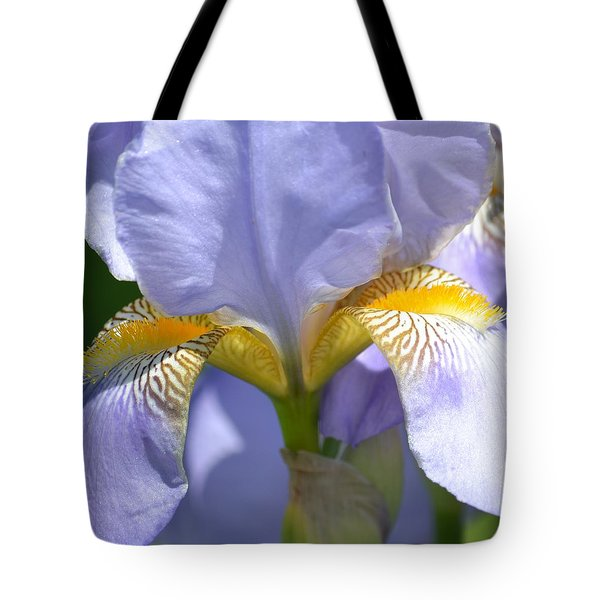 An Iris In Spring Tote Bag by P S