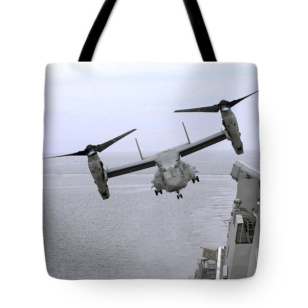 An Mv-22b Osprey Takes Tote Bag by Stocktrek Images