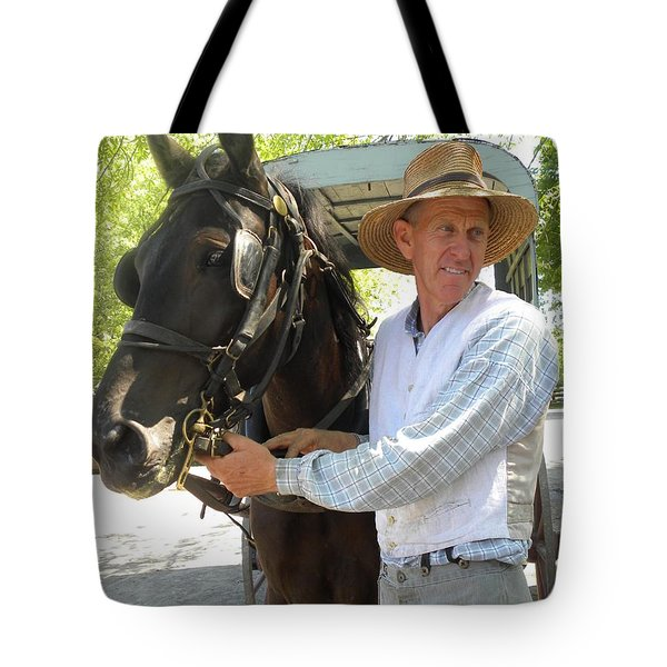 An Old Fashion Delivery Tote Bag