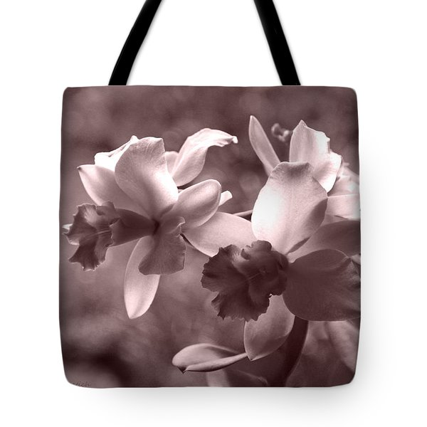 Tote Bag featuring the photograph An Orchid Dream by Kerri Ligatich