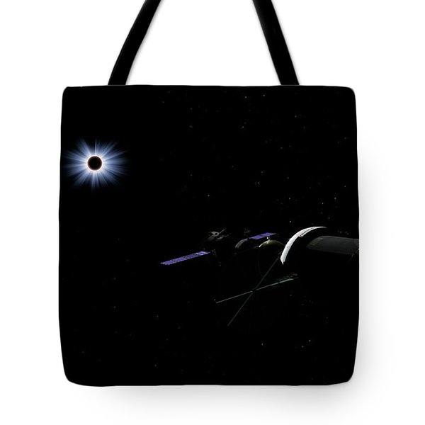 An Orion Class Crew Exploration Vehicle Tote Bag by Walter Myers