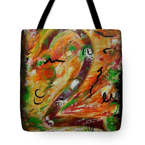 An Uncertain Relationship Tote Bag by Donna Blackhall