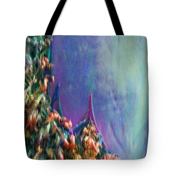 Tote Bag featuring the digital art Ancesters by Richard Laeton