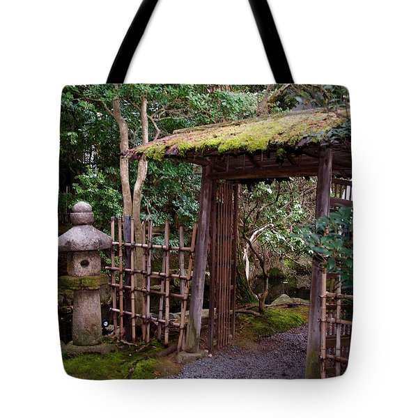 Ancestor Guarding The Gate Tote Bag