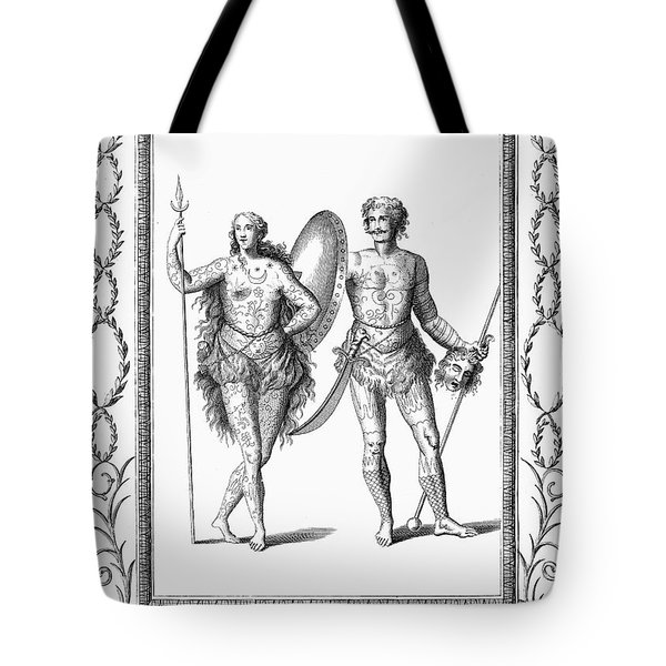 Ancient Britons Tote Bag by Granger