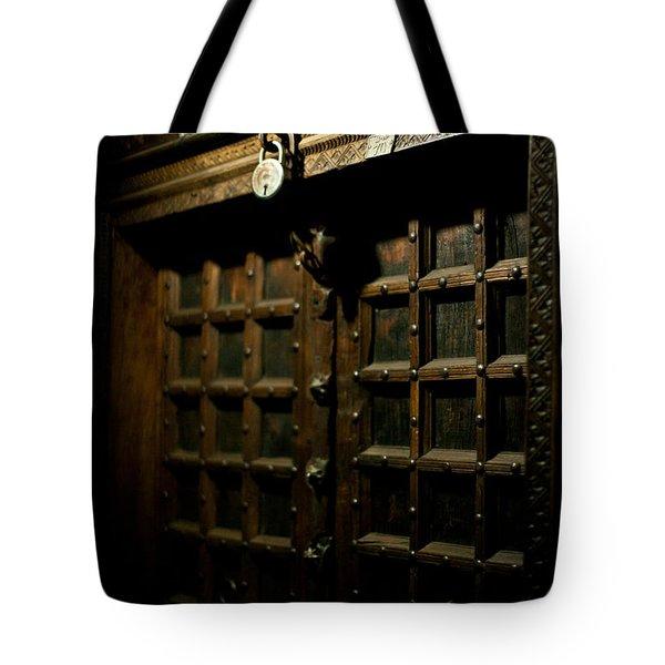 Ancient Door Tote Bag