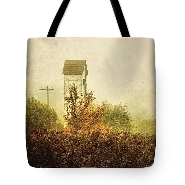 Ancient Transformer Tower Tote Bag