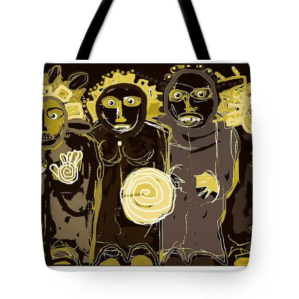 Ancients -duotone Tote Bag
