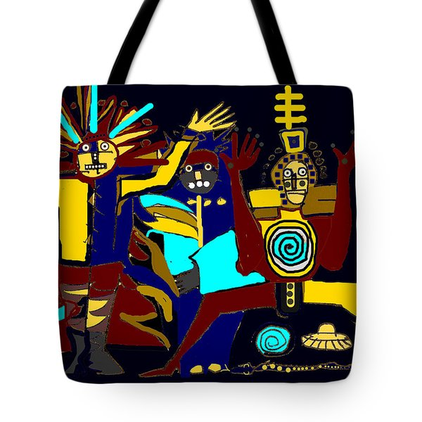 Ancients- Night Visit Tote Bag