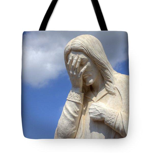 And Jesus Wept IIi Tote Bag