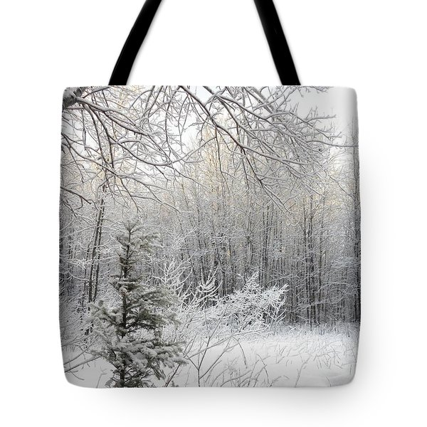 And More Snow Tote Bag