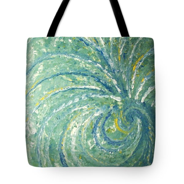 And The Peacock Danced Tote Bag