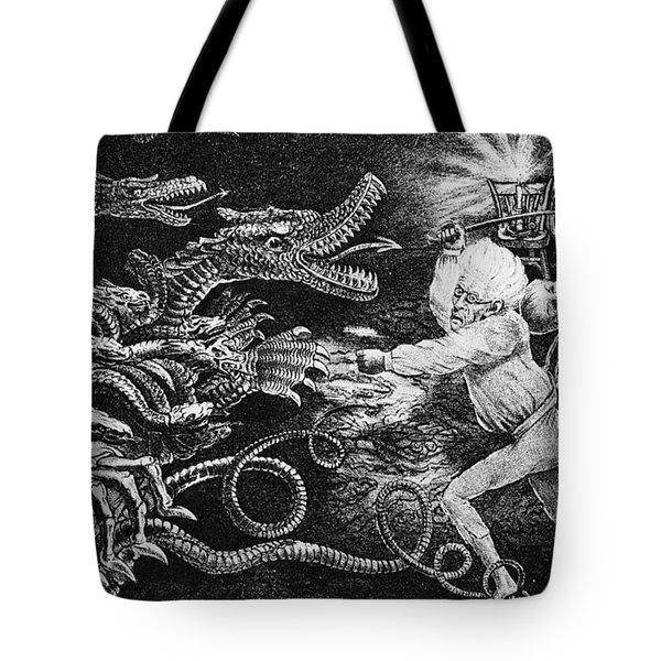 Andrew Jackson Cartoon Tote Bag by Granger