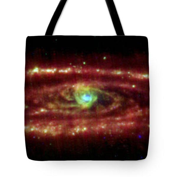 Andromeda Galaxy Tote Bag by Nasa