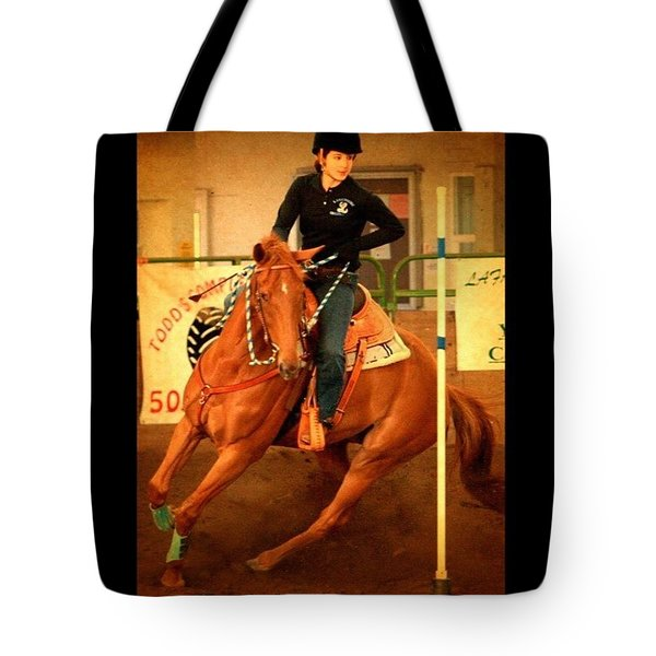 Andy And Chrissy Turning #together Tote Bag