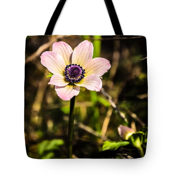 Tote Bag featuring the photograph Anemon by Michael Goyberg