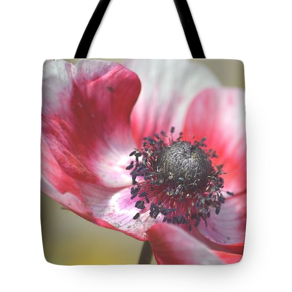 Anemone Flower Tote Bag
