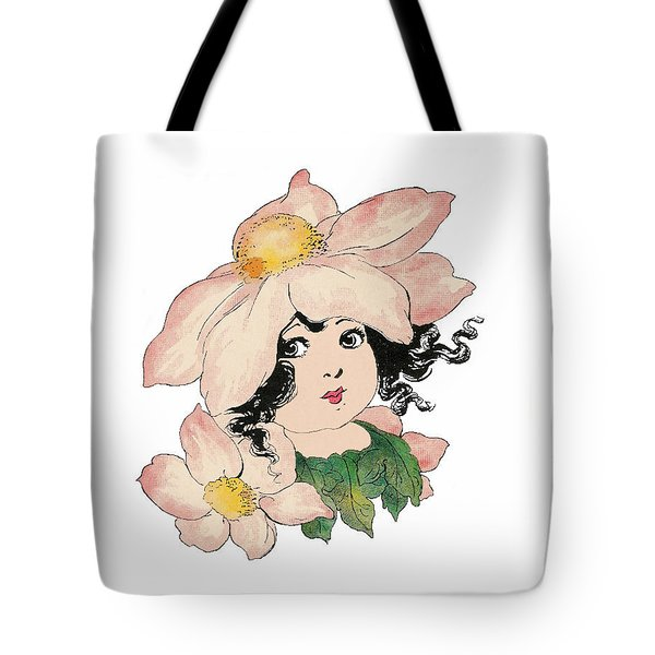 Anemone Or Windflower Tote Bag