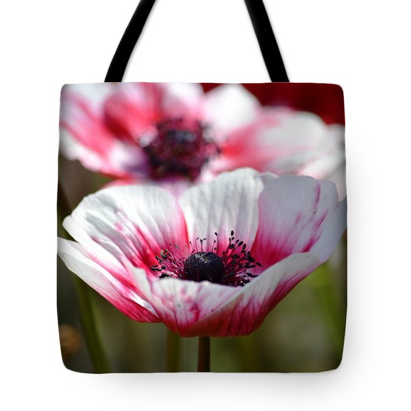 Anemones Tote Bag by P S