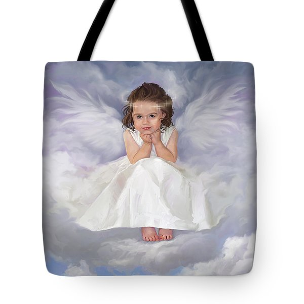 Angel 2 Tote Bag by Rob Corsetti