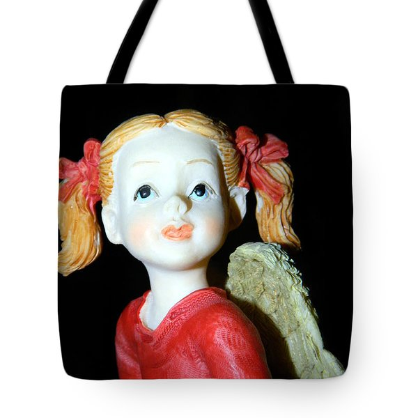 Tote Bag featuring the photograph Angel by Ester  Rogers