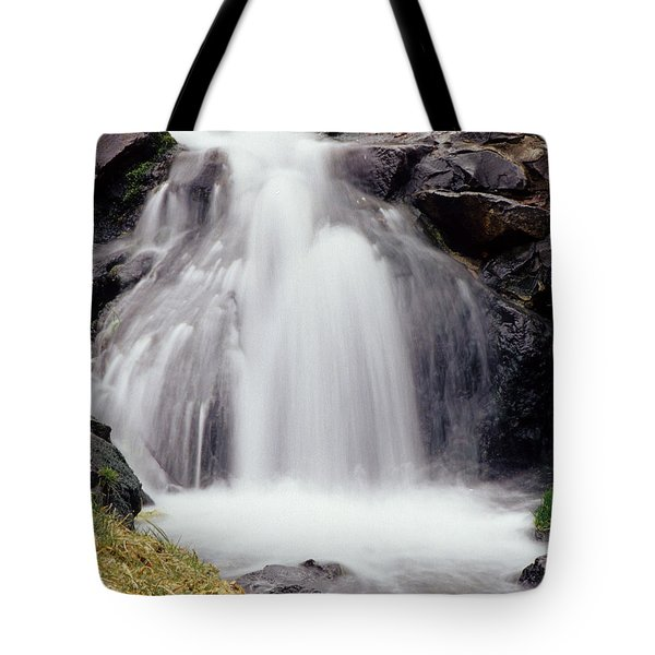 Tote Bag featuring the photograph Angel Hair by Sharon Elliott